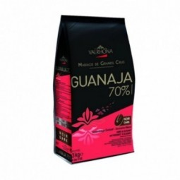 Dark Chocolate Couverture Guanaja 70% Buttons (3kg)