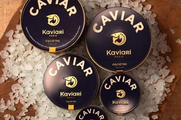 Avocado Caviar Cream